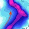 Allerta meteo in Campania ed altre 5 regioni. E' arrivata Cleopatra. Scuole chiuse nel napoletano