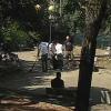 I volontari del Pd di Torrione, in campo per ripulire il parco di via Martuscelli a Salerno