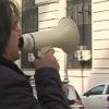 """""""Processo ingiusto"""" da Cosenza per protestare davanti al tribunale di Salerno"""