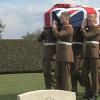 Funerali di stato a Bellizzi per un soldato inglese morto a Salerno nel '43