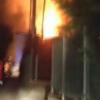 Incendio a Pagani, in fiamme un deposito