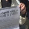 La Sanità pubblica non si vende, presidio della Cgil all'Asl ed all'Ospedale di Salerno