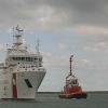 400 migranti sbarcati nel porto di Salerno dalla CP920 Gregoretti