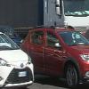 Piazza Ligea a Salerno bloccate dalle auto in attesa di imbarcarsi
