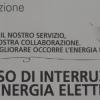 Stop all'elettricità per due ore a Pastena e nel centro storico di Salerno l'11 agosto