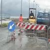 Salerno – Litoranea interrotta per la rottura di una conduttura dell'acqua