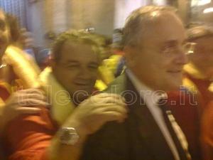 """Claudio Lotito...""""portatore"""""""