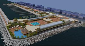La piazza a mare prevista dal progetto