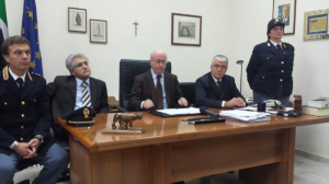 La conferenza stampa di oggi (Foto Roberto Guerriero)