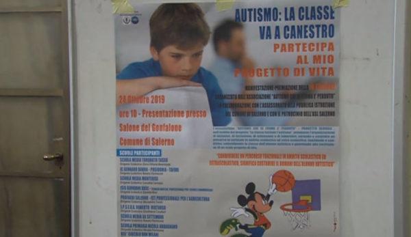 """""""La Classe va a Canestro"""" dell'associazione """"Autismo, chi si ferma è perduto"""""""