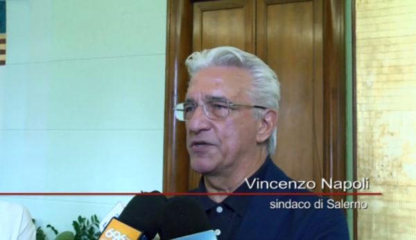 Sindaco Enzo Napoli Salerno